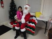 Santa and Allyson