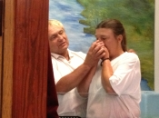 Baptism of Patricia Obright - Aug 28, 2013