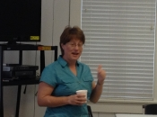 Carmen Filbeck visit 2013